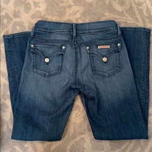 Hudson Collin Flap Skinny Jeans size 27